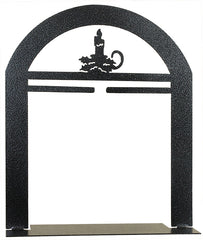6 inch Candle in the Window Arch Stand