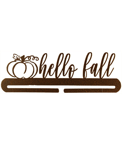 12 inch Hello Fall Split Bottom Copprvein