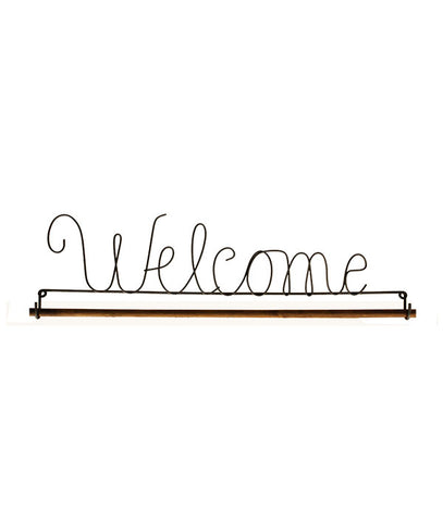 Welcome Fabric Holder
