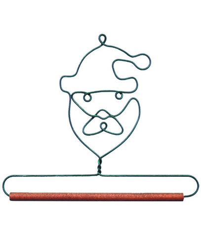 Santa w 0.25 Dowel Discontinued Retail Sale Only
