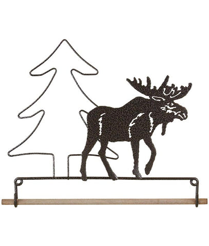 Moose Fabric Holder