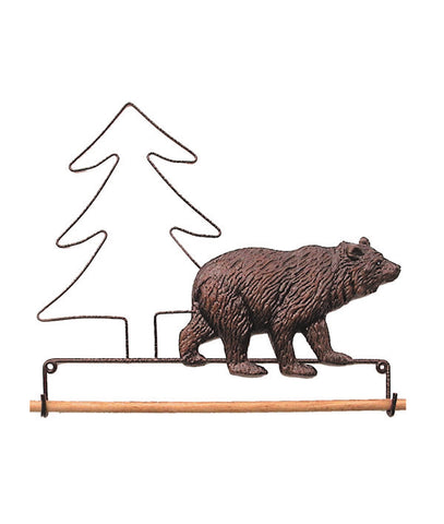 Bear Fabric Holder
