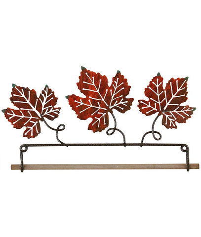 Autumn Leaf Fabric Holder