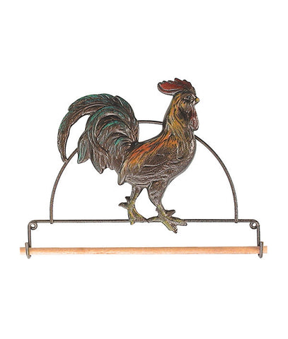 Rooster Fabric Holder