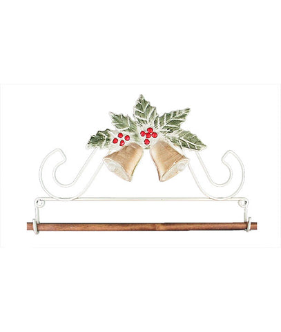 Holly and Bells Fabric Holder
