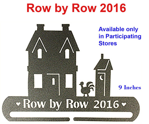 Row by Row 2016 Hanger - Available in Participating Stores ONLY