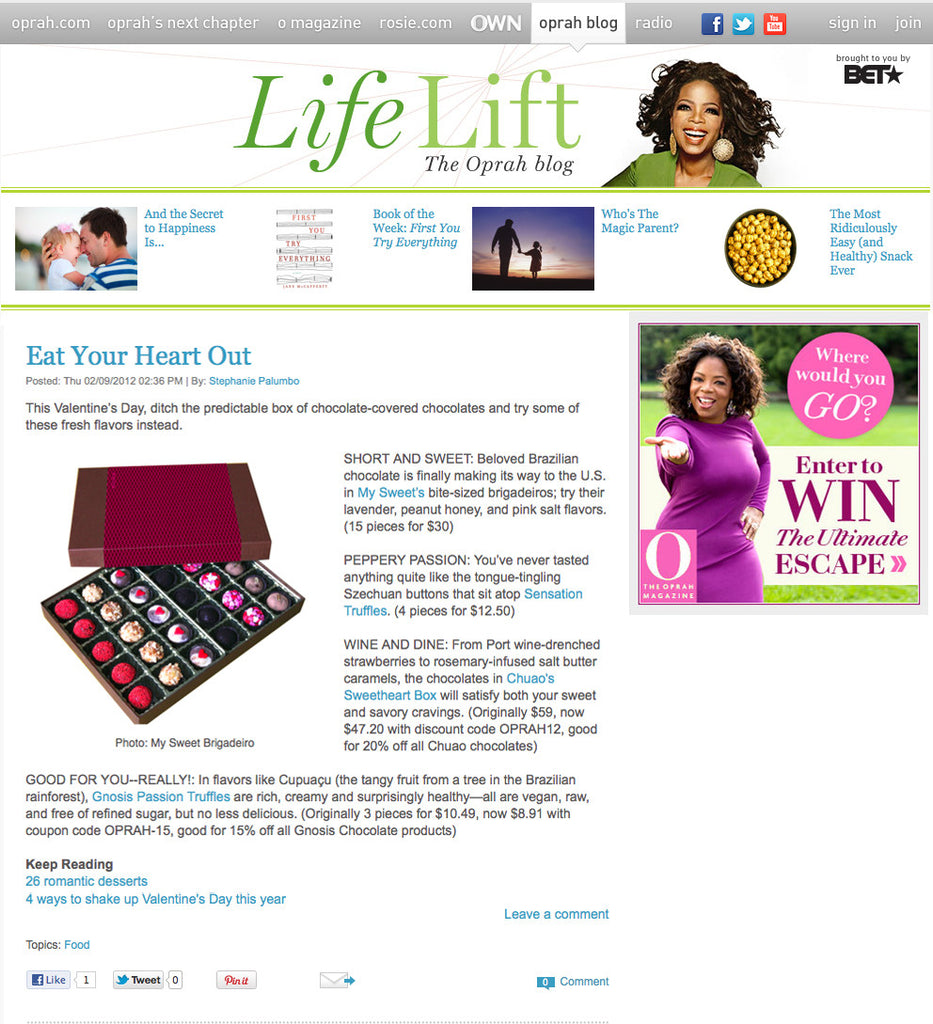 The Oprah Blog