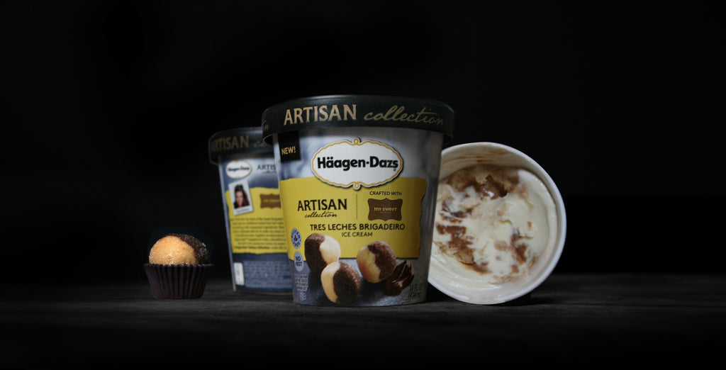 'Tres Leches Brigadeiro' Ice Cream by Haagen Dazs & My Sweet