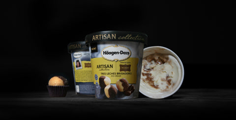 'Tres Leches Brigadeiro' Ice Cream by Haagen Dazs & My Sweet.