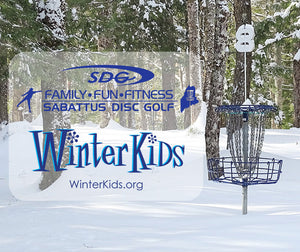 Sabattus Disc Golf Teams Up With WinterKids