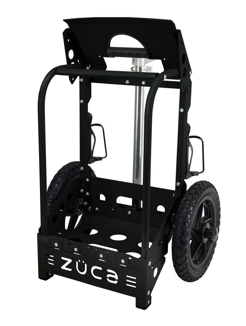 Zuca Backpack Disc Golf Cart Black