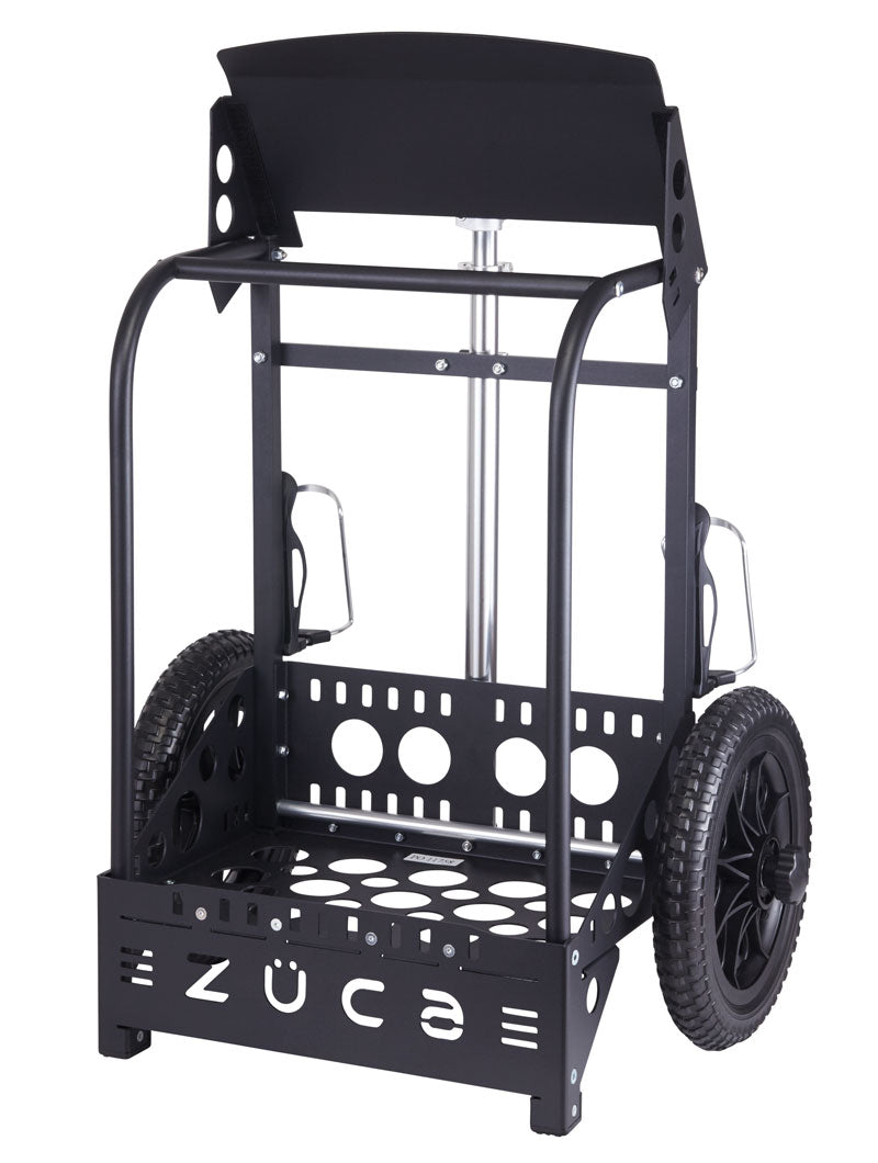 Zuca Backpack LG Disc Golf Cart Black