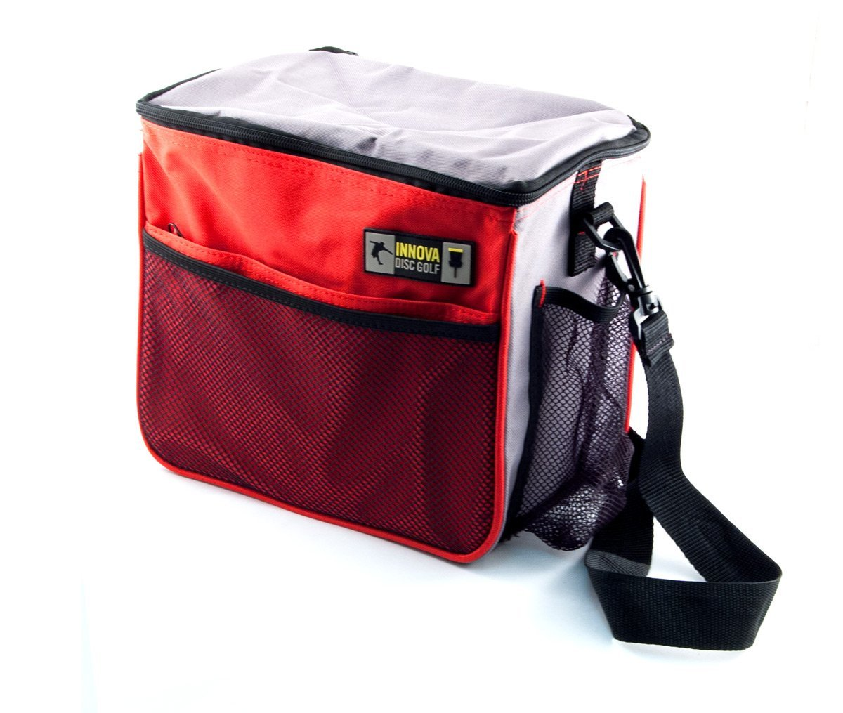 Innova Starter Disc Golf Shoulder Bag Red-Grey