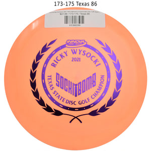 innova-star-destroyer-2021-ricky-wysocki-commemorative-disc-golf-distance-driver 173-175 Texas 86