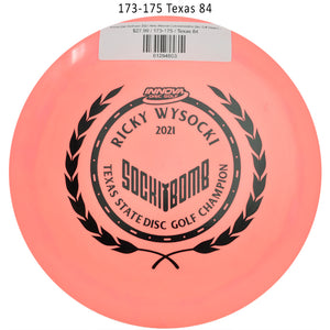 innova-star-destroyer-2021-ricky-wysocki-commemorative-disc-golf-distance-driver 173-175 Texas 84