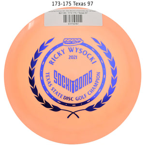 innova-star-destroyer-2021-ricky-wysocki-commemorative-disc-golf-distance-driver 173-175 Texas 97