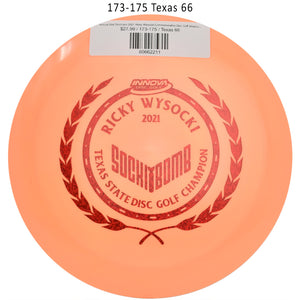 innova-star-destroyer-2021-ricky-wysocki-commemorative-disc-golf-distance-driver 173-175 Texas 66