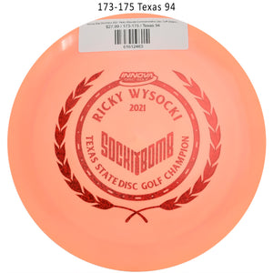 innova-star-destroyer-2021-ricky-wysocki-commemorative-disc-golf-distance-driver 173-175 Texas 94