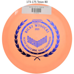 innova-star-destroyer-2021-ricky-wysocki-commemorative-disc-golf-distance-driver 173-175 Texas 80