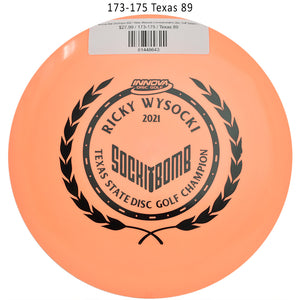 innova-star-destroyer-2021-ricky-wysocki-commemorative-disc-golf-distance-driver 173-175 Texas 89