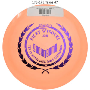 innova-star-destroyer-2021-ricky-wysocki-commemorative-disc-golf-distance-driver 173-175 Texas 47
