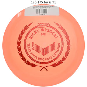 innova-star-destroyer-2021-ricky-wysocki-commemorative-disc-golf-distance-driver 173-175 Texas 91
