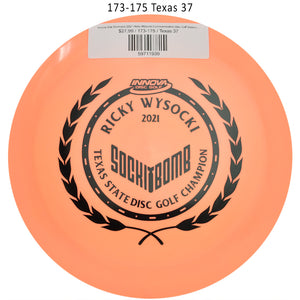 innova-star-destroyer-2021-ricky-wysocki-commemorative-disc-golf-distance-driver 173-175 Texas 37