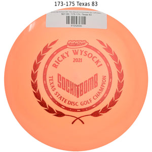 innova-star-destroyer-2021-ricky-wysocki-commemorative-disc-golf-distance-driver 173-175 Texas 83
