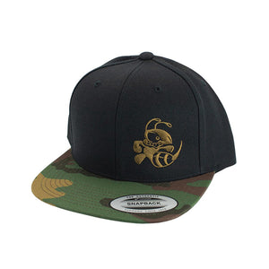 discraft-buzzz-two-tone-snapback-disc-golf-hat Black-Camo