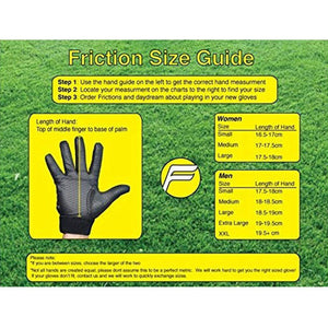 Friction Gloves Warms Disc Golf Bag Essential Size Chart