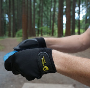Friction Gloves Pair Black