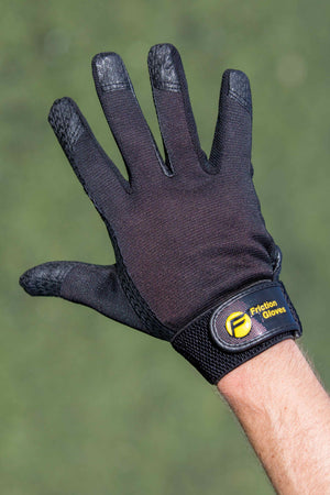 Friction Gloves Right Hand Black