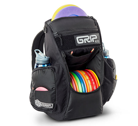 GRIPeq© CS2 Compact Series Disc Golf Bag Coal