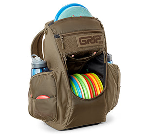 GRIPeq© CS2 Compact Series Disc Golf Bag Sand