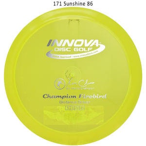 innova-champion-firebird-disc-golf-distance-driver 171 Sunshine 86