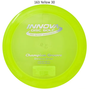 Innova Champion Groove Disc Golf Distance Driver Yellow 30