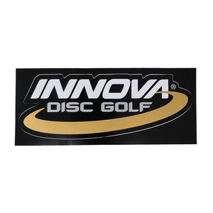 Innova Die Cut Sticker White-Silver-Gold