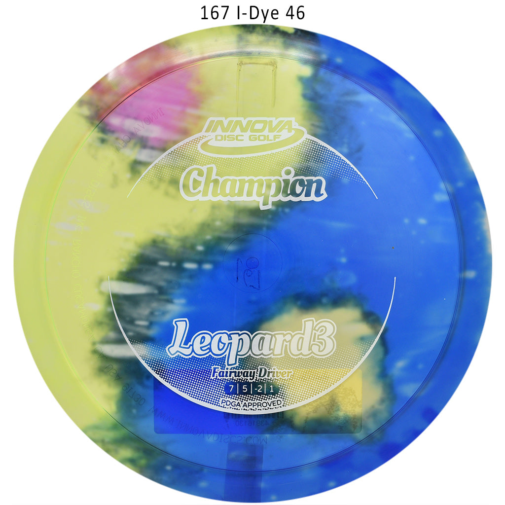 Innova I-Dye Champion Leopard3 Disc Golf Fairway Driver I-Dye 46