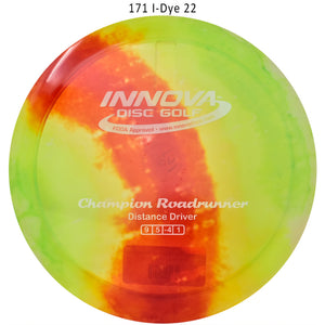 Innova I-Dye Champion Roadrunner Disc Golf Distance Driver I-Dye 22