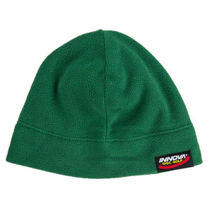 Innova Microfleece Beanie Disc Golf Hat Dark Green