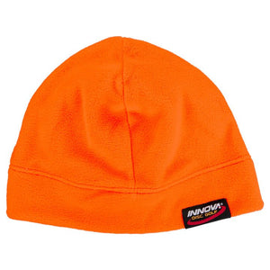 Innova Microfleece Beanie Disc Golf Hat Neon Orange