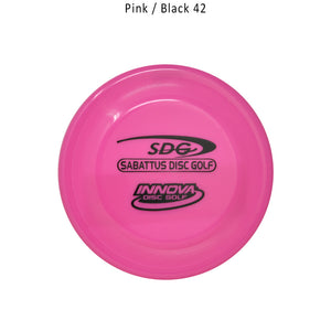 Innova Sonic Jr. Mini Marker w. SDG Logo Disc Golf Pink/Black 42