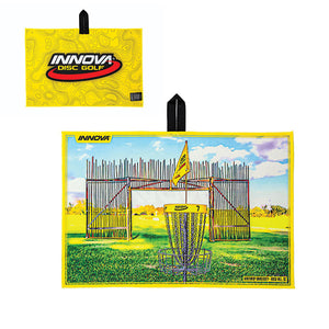 Innova Tour Course Disc Golf Towel USDGC