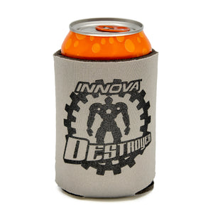 Innova Can Hugger-Koozie Mini Series Disc Golf Accessories Destroyer-Grey