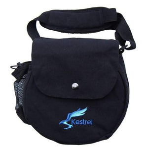 Kestrel Canvas Disc Golf Bag Blue