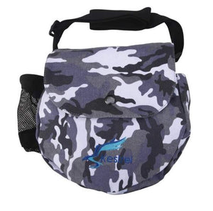Kestrel Canvas Disc Golf Bag Gray Camo