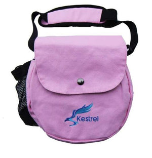 Kestrel Canvas Disc Golf Bag Black