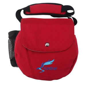 Kestrel Canvas Disc Golf Bag Red