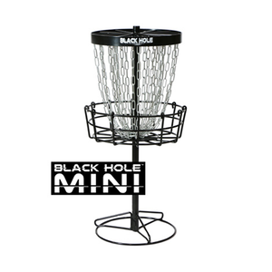 MVP Disc Sports Black Hole Macro Mini Disc Golf Basket