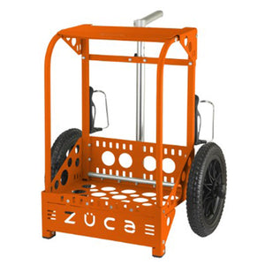Zuca Backpack LG Disc Golf Cart Orange